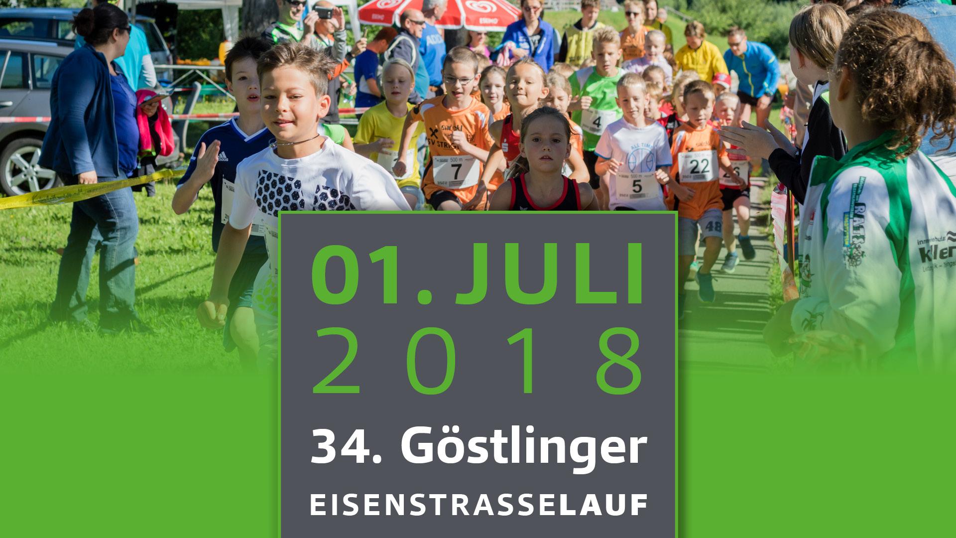 34. Göstlinger Eisenstraßelauf 2018