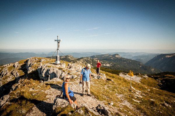 Wegmarkierungsarbeiten Alpinweg Dürrenstein-Hochkar - Alpenvere