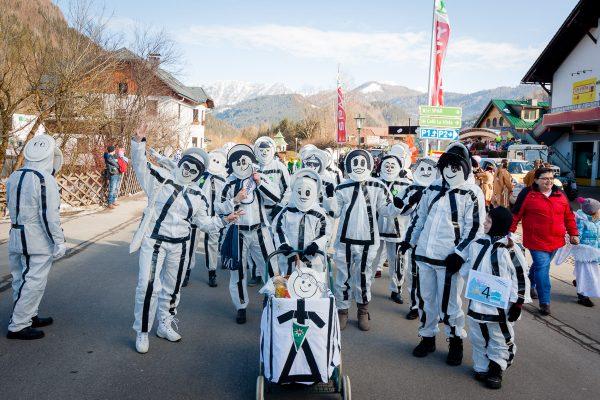 Alpenverein Oberes Ybbstal - Faschingsumzug Göstling 2018